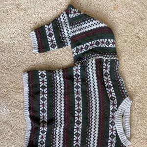 Eddie Bauer Cropped Vintage Sweater